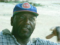 Uncle Lionel Talbot of Salt Cay - photo by Candy Herwin - all rights reserved.